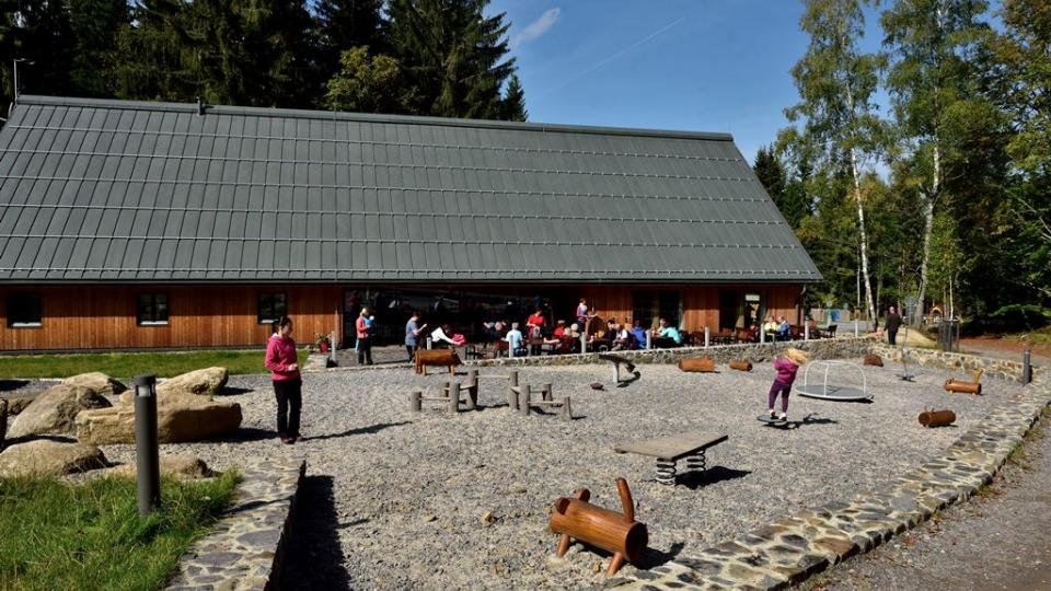 Návštěvnické centrum v Srní na Šumavě představuje vlky