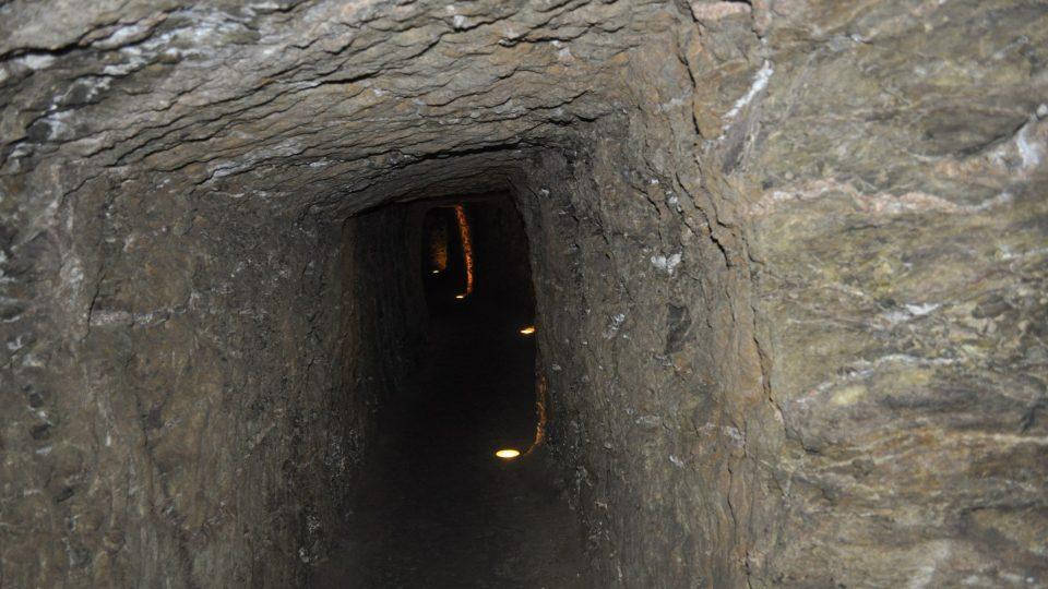 Podzemí kdysi sloužilo jako úkryt v době válek a nepokojů