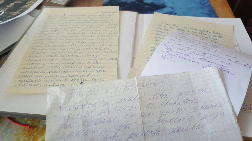 Pověsti Strmilovska sbírala už v 70. letech mezi svými žáky současná kronikářka města Libuše Kubáková