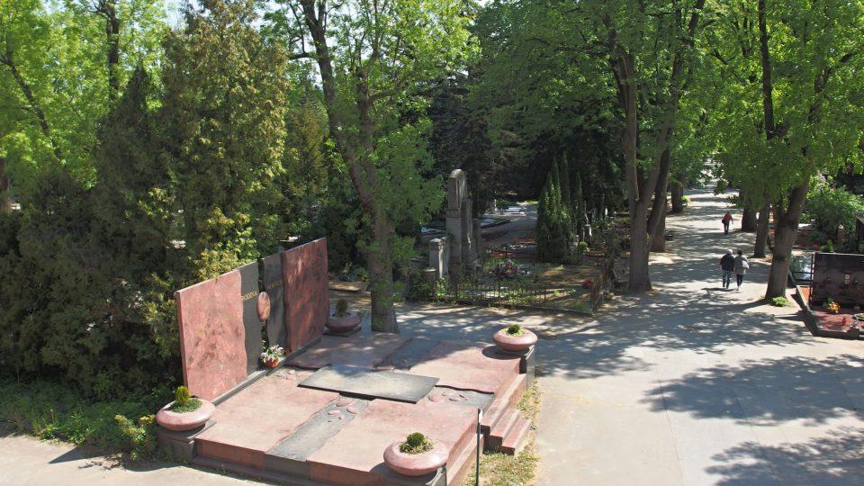 Brněnský Ústřední hřbitov je svérázným parkem
