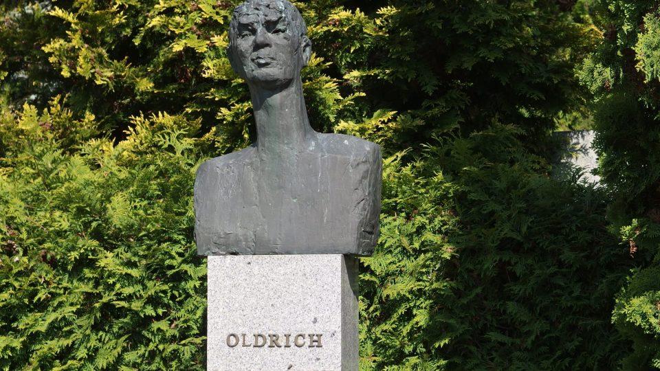 Hrob Oldřicha Mikuláška na brněnském Slavíně
