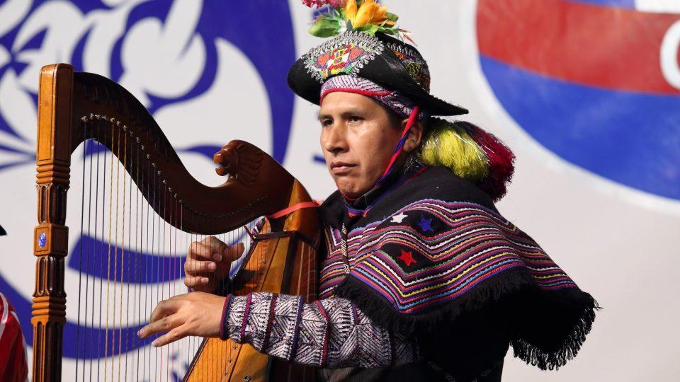 Soubor z oblasti Ayacucho, Peru