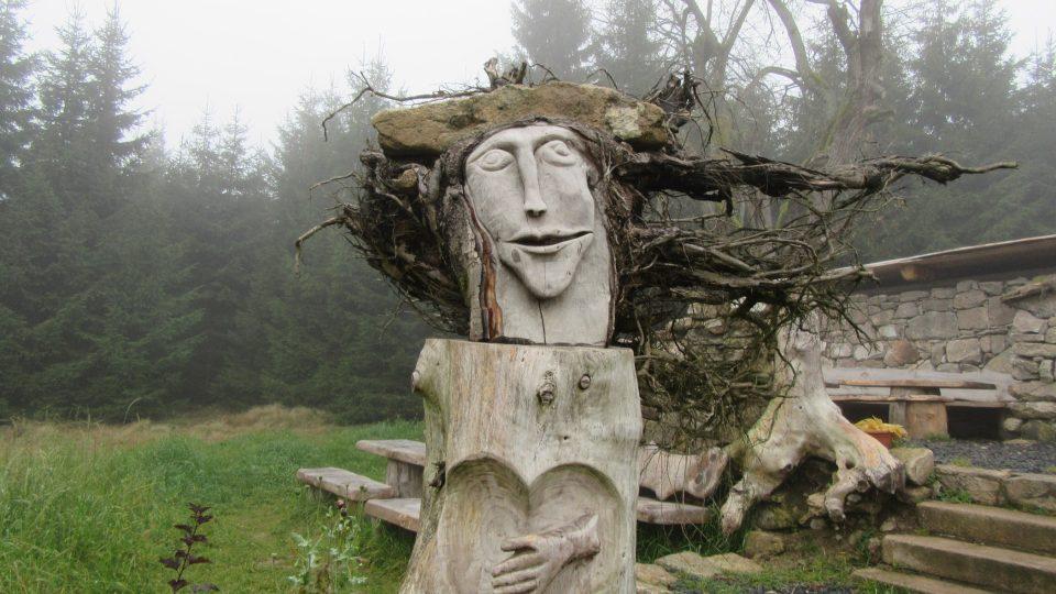 Podobizna ochránkyně Krušných hor Marcebila