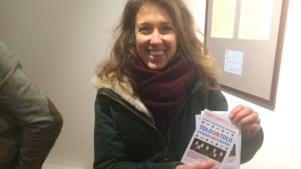 Jedna z autorek projektu Vyprávět nevyprávěné Catrien Spijkerman