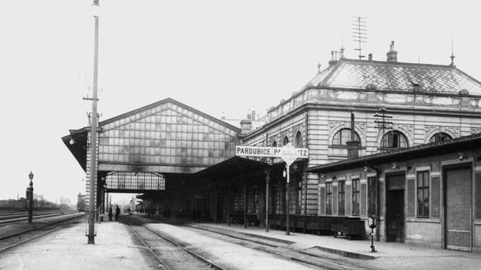 Staré vlakové nádraží v Pardubicích