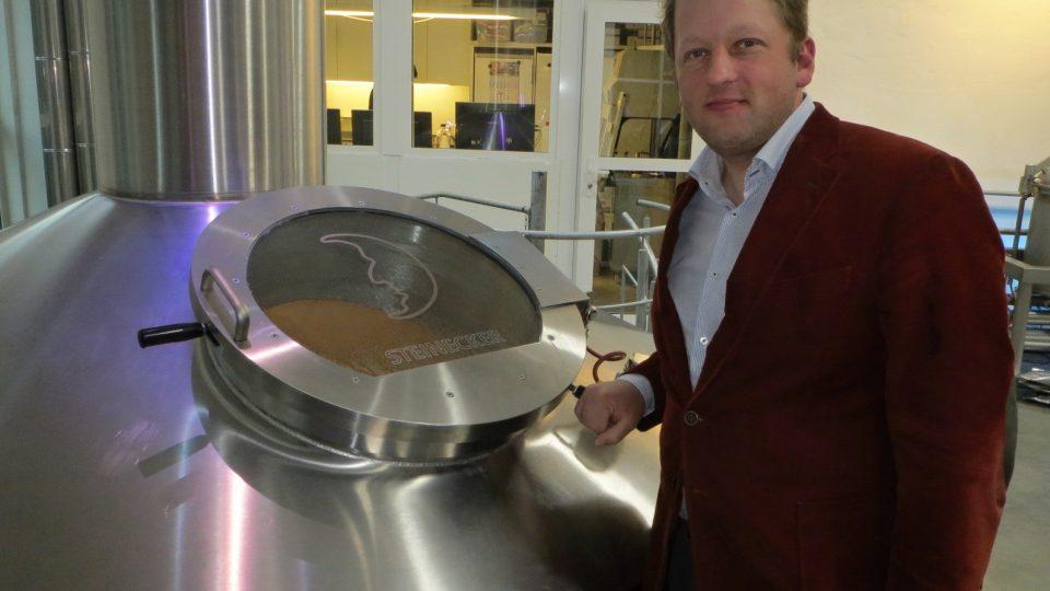Xavier Vanneste si přínos pivovodu pochvaluje