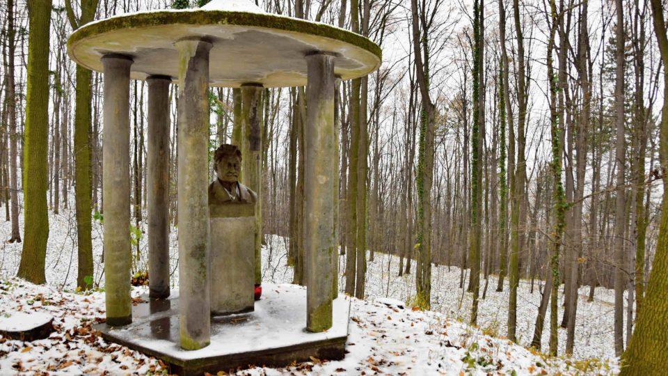 Busta Leoše Janáčka v Národním sadu