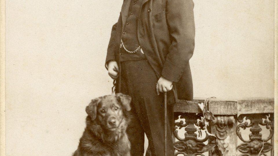 Hudební skladatel August Stradal