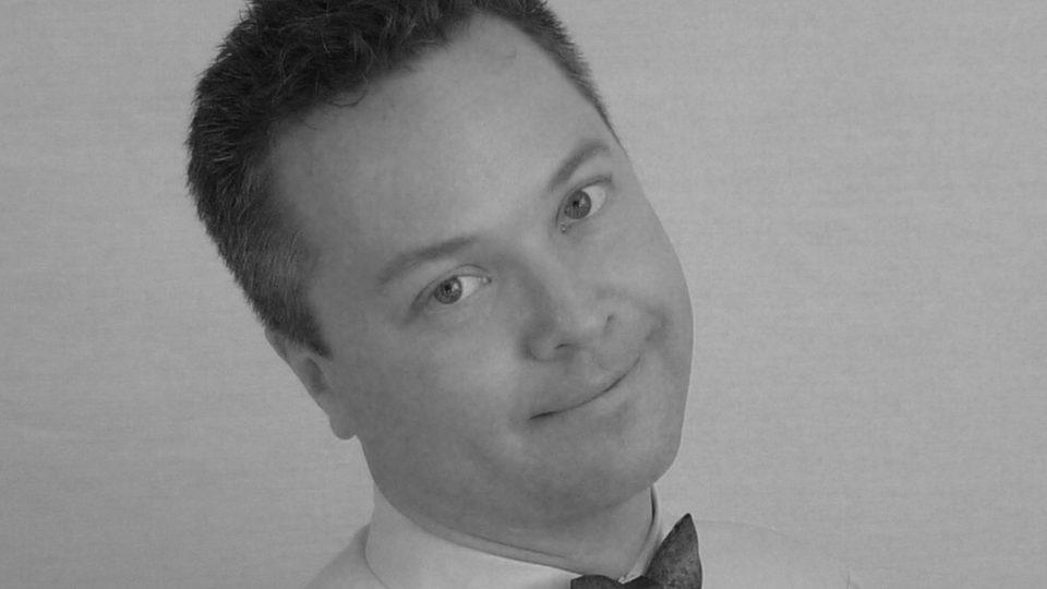 Tomáš Flégr, koncertní varhaník a duchovní otec projektu restaurování rumburského clavichordu