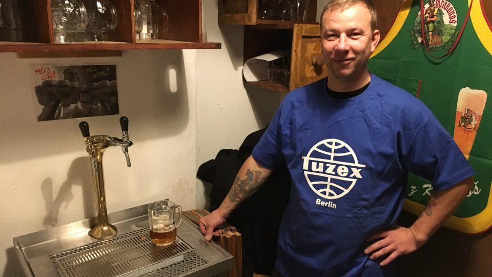 Čepované pivo je v obchodě s českým zbožím takřka nutnost
