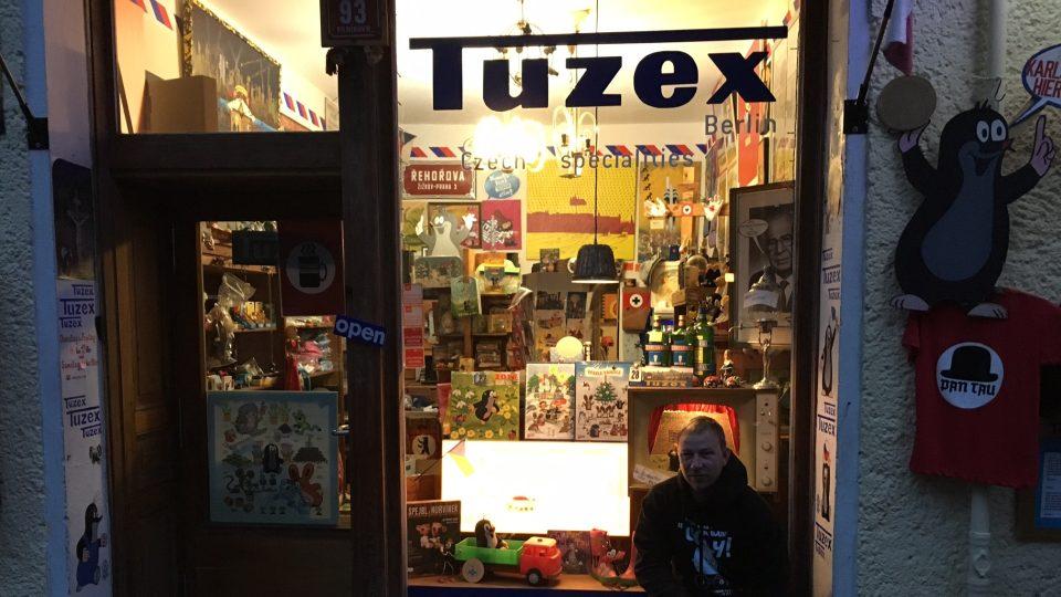 Tuzex Luďka Pachla najdete v bývalém východním Berlíně