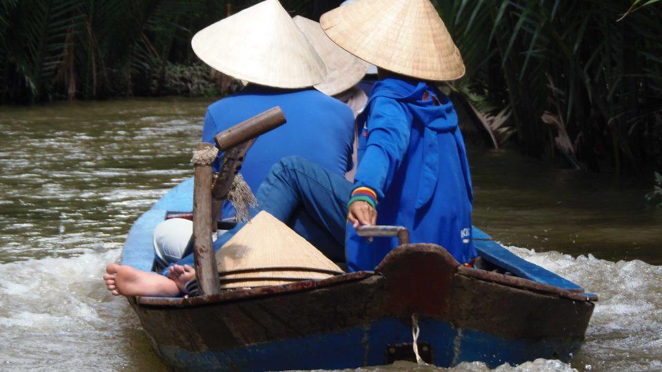 Delta Mekongu na jihovýchodě Vietnamu