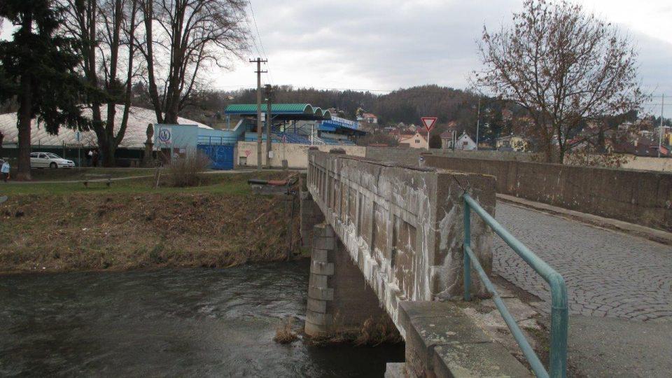 Most v Bělovsi před rekonstrukcí