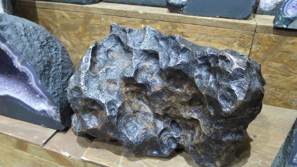 Témeř sedmdesátikilogramový meteorit pochází z Argentiny