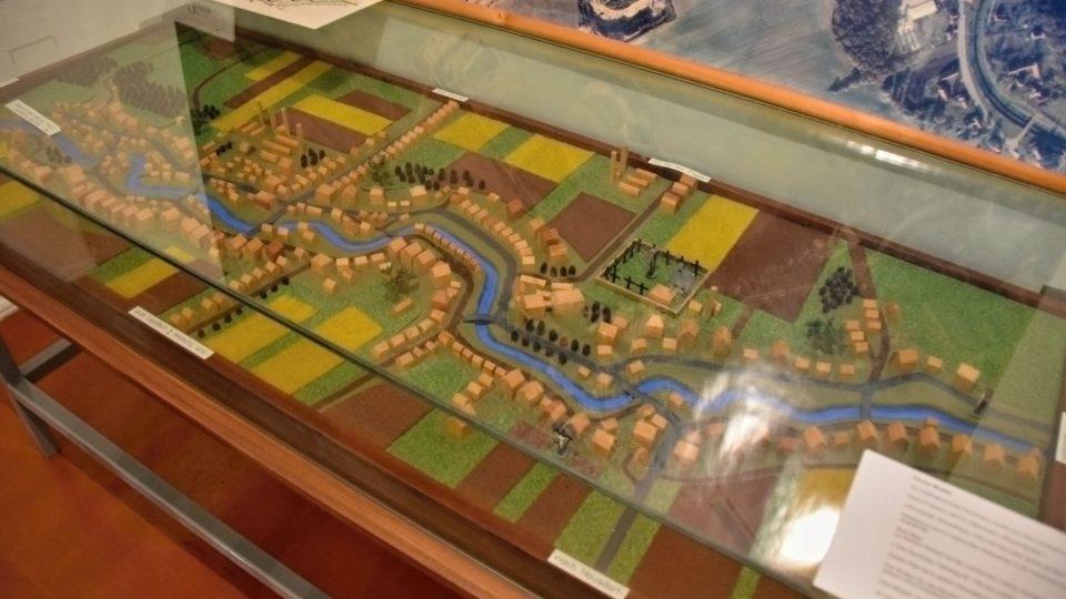 Velký model Kunína z poválečného období