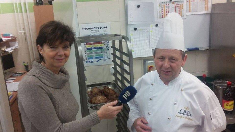 Český rozhlas Hradec Králové vysílá v přímém přenosu z hotelu Horal ve Špindlerově Mlýně