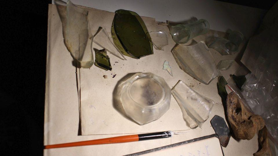 Nálezy starého skla