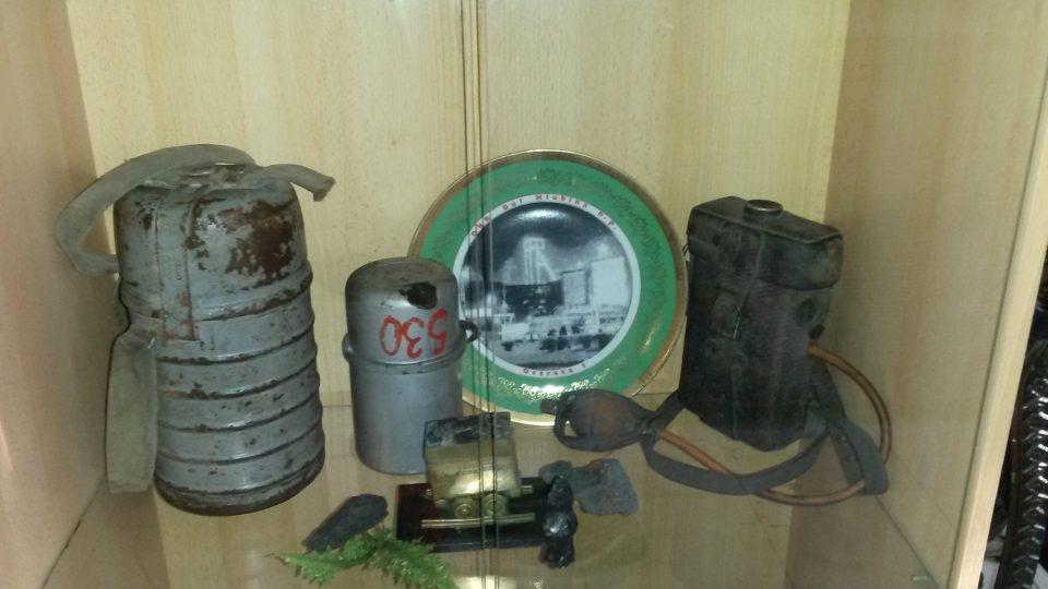 Muzeum Keltičkova kovárna ukazuje také běžnou výbavu horníka