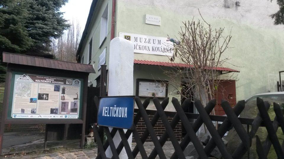 Muzeum Keltičkova kovárna na Slezské Ostravě