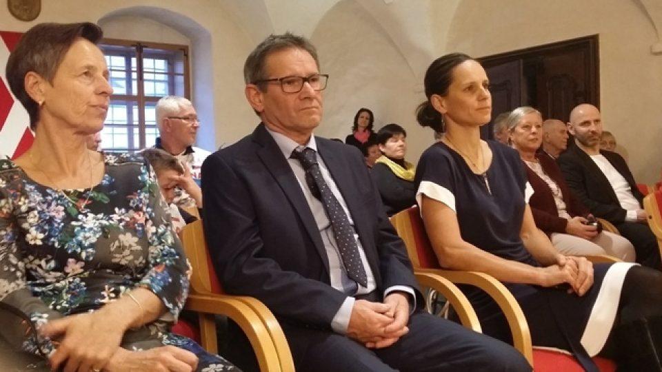 Kateřina Nash s rodiči Helenou a Miloslavem