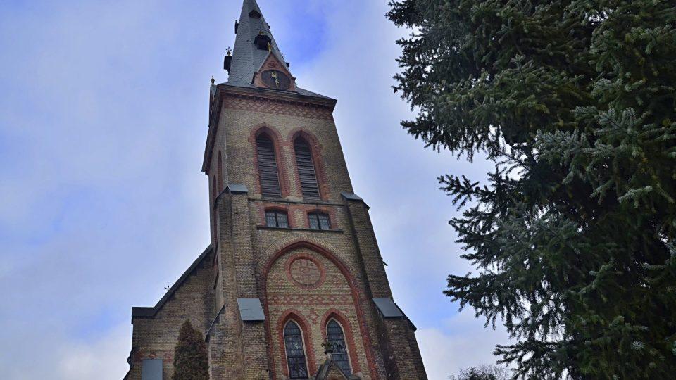 Nový kostel Nanebevzetí Panny Marie