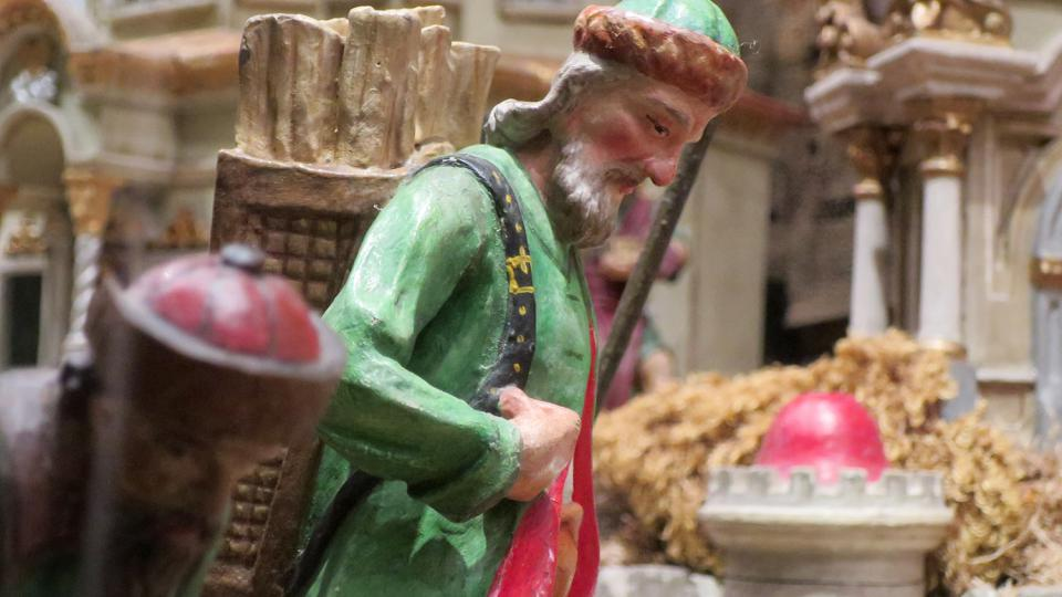 Svitavský betlém je složený z velkých betlémů, které ve městě zůstaly po odsunu původního německého obyvatelstva