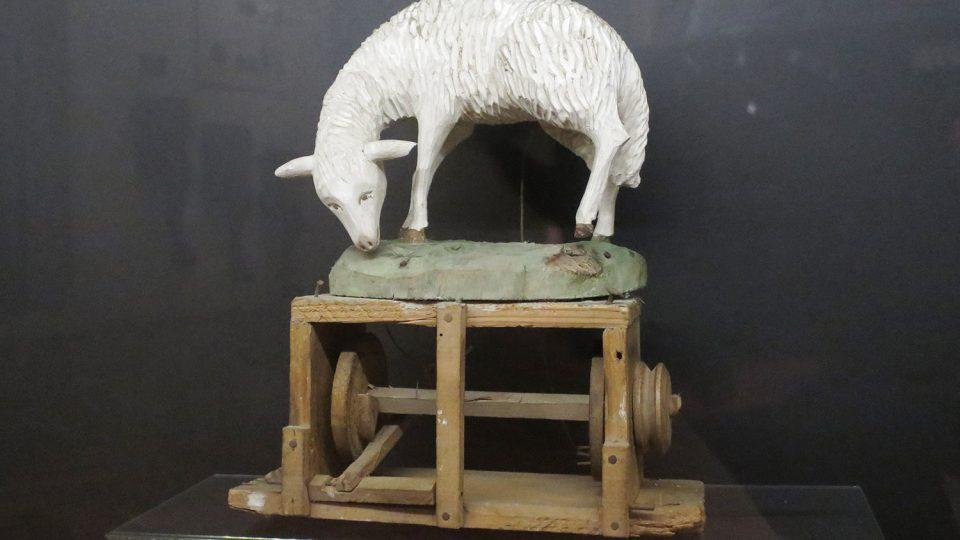 Svitavský betlém má mechanické součásti, až je restaurátoři opraví, bude se betlém pohybovat