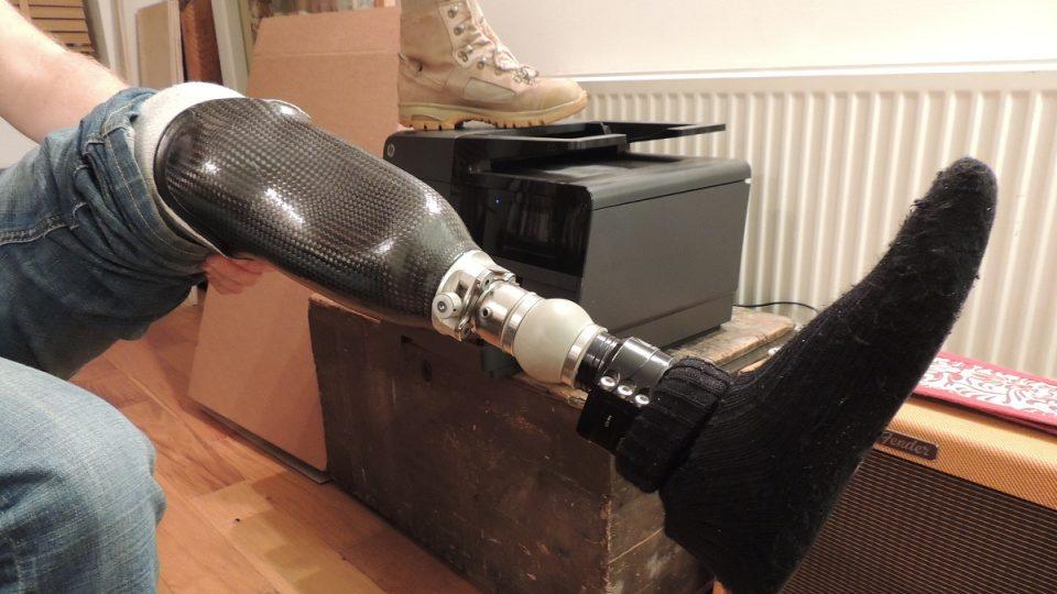 Mattova protéza pro běžné nošení