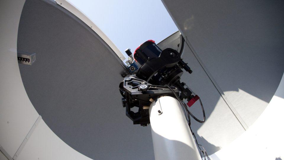 Slezská univerzita v Opavě má vlastní vědeckou observatoř