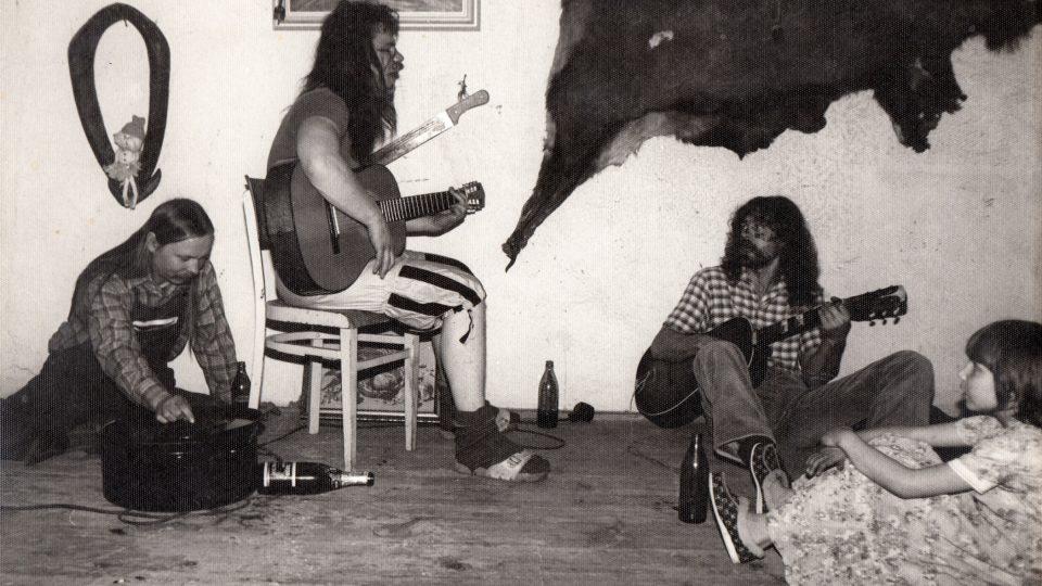 Akce s kamarády v Osvračíně, 80. léta