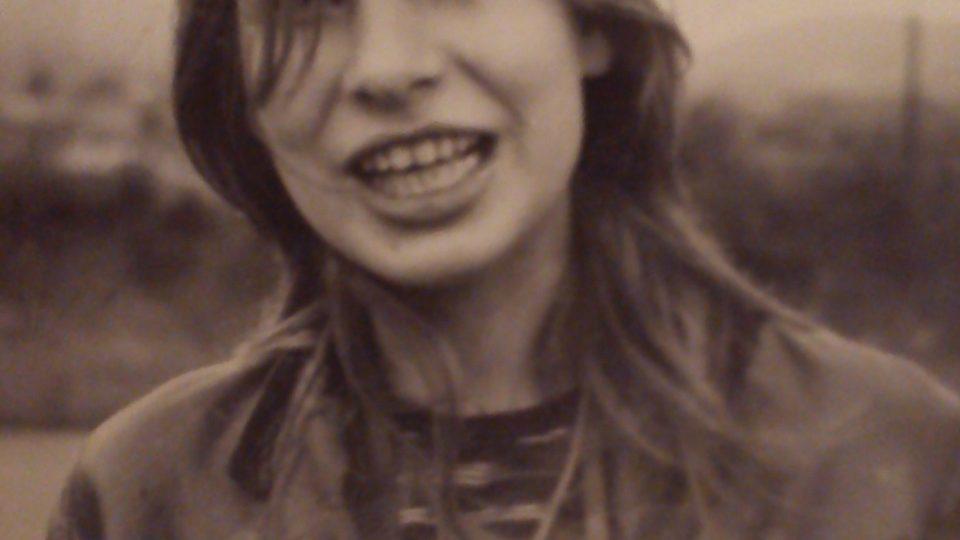 Silvestra Chnapková v mládí
