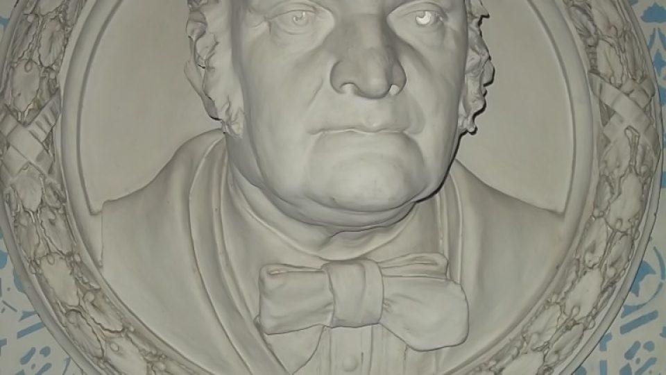 Mathias Salcher založil pobočku své vídeňské továrny v bílovci v roce 1863