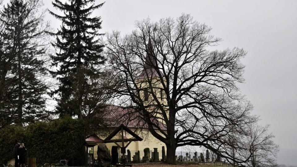 Kostel z balady Svatební košile