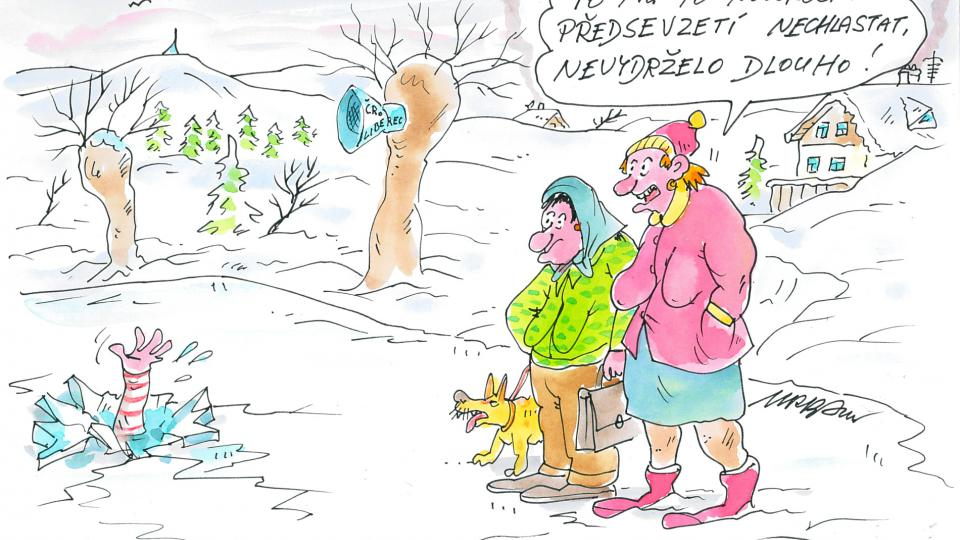 Novoroční předsevzetí Rudy Pivrnce