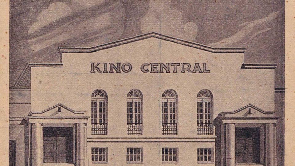 Kino Central - dobový snímek