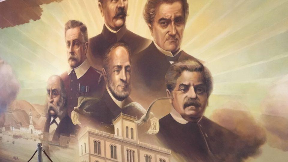 Svých zakladatelů a hrdinů si v hasičské centrále náležitě váží