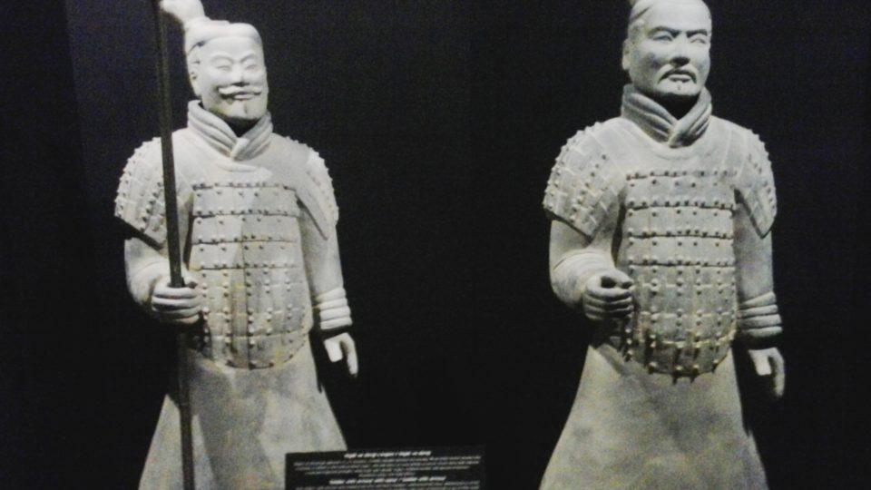 Výstava terakotových vojáků v Karlových Varech