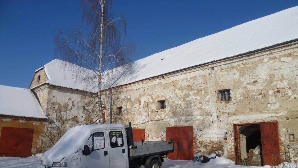 Bývalý panský pivovar v Čechtíně