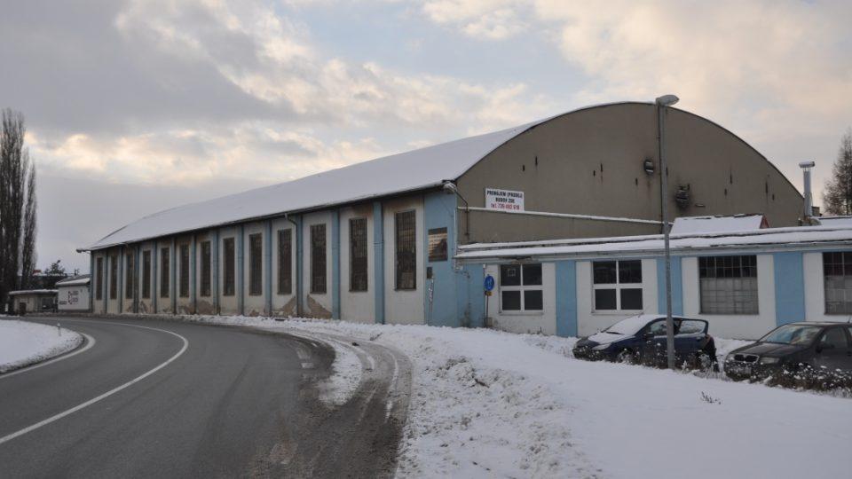 První továrna na letadla firmy Mráz a Beneš v Chocni