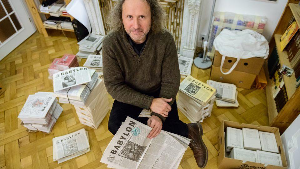 Petr Placák je šéfredaktorem kulturně-společenské revue Babylon