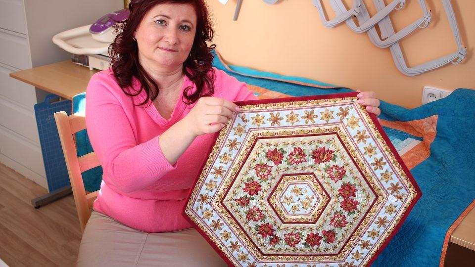 Jana Hrevúšová, patchworková švadlena