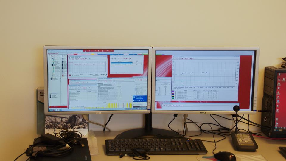 Sledování parametrů ve skleníku je úkolem pro počítače