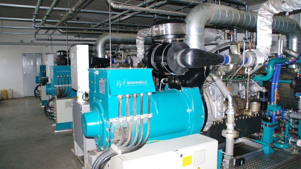 Strojovna bioplynové stanice