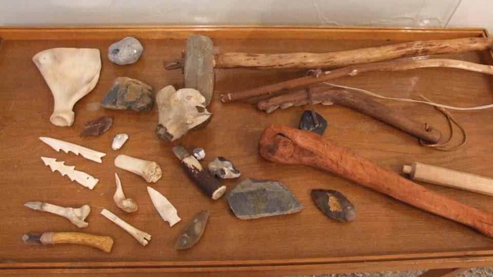Výstava Od doby kamenné do doby slovanských hradišť v poličském muzeu