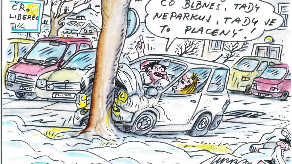 Parkování podle Rudy Pivrnce alias Petra Urbana