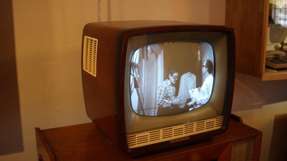 Televizor Ametys je stále funkční