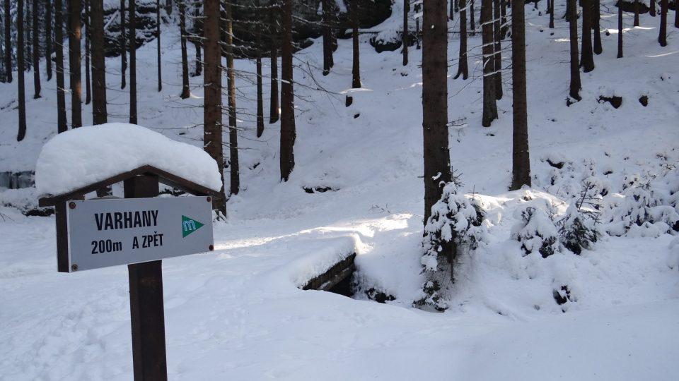 Cesta k ledopádu Varhany