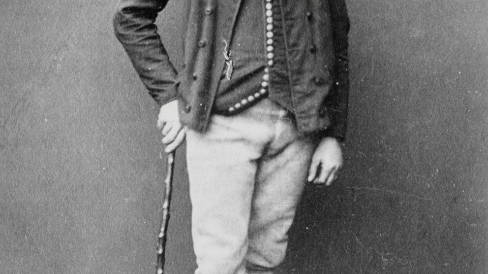 Sedlák v chotěšovském kroji, Josef Boettinger, 70. léta 19. století