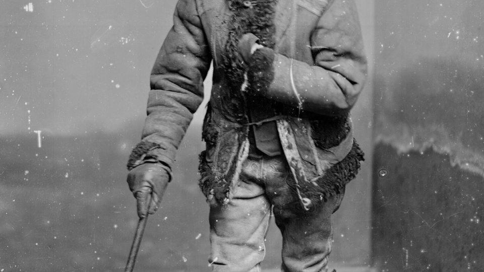 Starý sedlák v plzeňském kroji, Adolf Kopecký, 90. léta 19. století