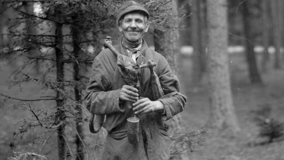 Starý dudák, Adolf Kopecký, 90. léta 19. století